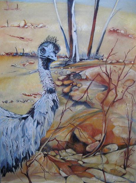 Emu, Perry Sandhills, Wentworth