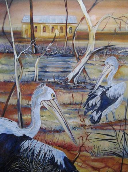 Pelicans, Psyche Pumps, Mildura