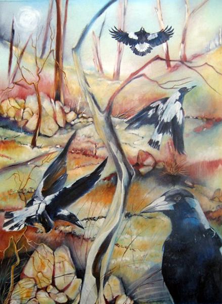 Magpies, Broken Hill