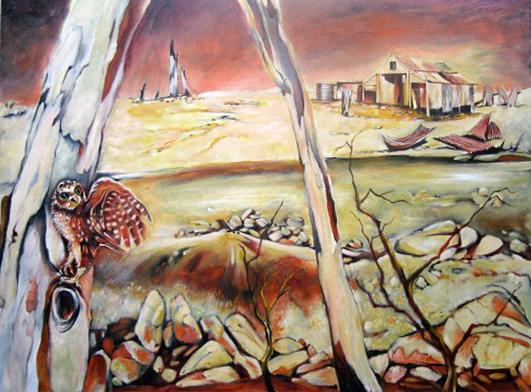 Deserted Farm, Broken Hill